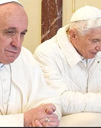 ¿Pone el papa emérito palos en las ruedas al papa Francisco?