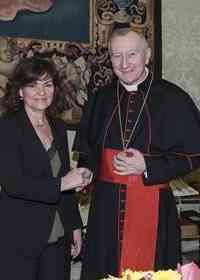 Encuentro entre los 'vices' de España y de la Santa Sede