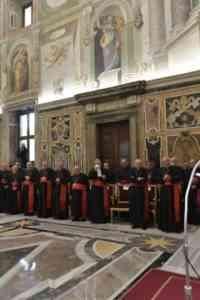 Discurso navideño del papa Francisco a la curia romana